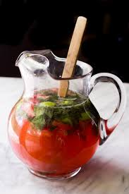 pitcher strawberry mojitos wholefully