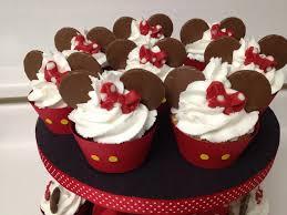 mickey mouse themed cupcakes chocolate u0026 vanilla cupcakes u2026 flickr