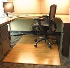 Wooden Floor Protector Mat Office Chairs Great Hardwood Floor Chair Mat With Tri Fold Bamboo