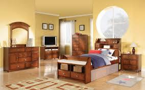 kids full size bedroom sets corner desk and wall bookshelf pink