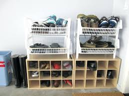 25 best ideas about garage shoe storage on pinterest shelves rack full image for nice combination of shoe storage and bench design for garage ideasgarage diy