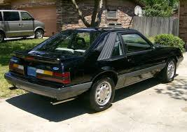 mustang gt 1986 black 1986 ford mustang gt hatchback mustangattitude com photo