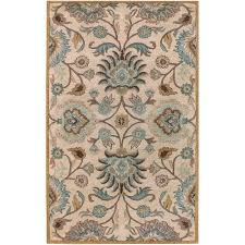 Brown And Beige Area Rug Home Decorators Collection Rugs Flooring The Home Depot