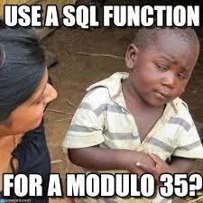 Unh Meme - sql function for a modulo use a sql function on memegen