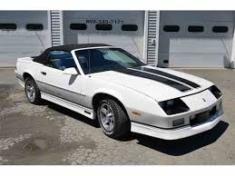 1989 chevy camaro iroc 1989 chevrolet camaro for sale on classiccars com 20 available