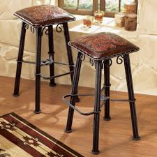 Furniture Wooden And Metal Counter by Furniture Wood And Iron Bar Stools Bar Stools With Arms U201a Leather