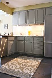 painted kitchen cabinet ideas also gray cabinets yellow walls