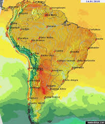 map of south america weather maps south america meteoblue
