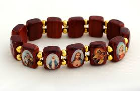 saints bracelet contreras designs inc bracelets bp06g wood
