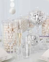 white party table decorations marthacelebrations ice white party martha stewart
