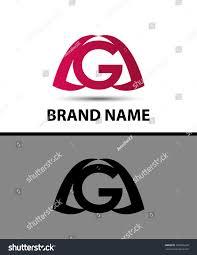 letter g logo alphabet logotype vector stock vector 292865228