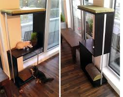 diy modern cat furniture idea adoptapet com blog
