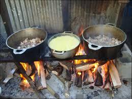 cuisine au feu de bois cuisine bois modele de cuisine au feu de bois