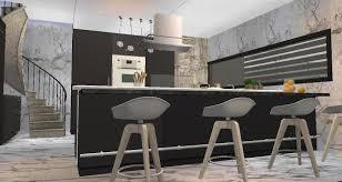 The Sims 2 Kitchen And Bath Interior Design Simmylicious Sim Homes
