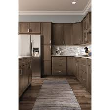 brown kitchen cabinets lowes now stowe 18 in w x 84 in h x 23 75 in d colt door