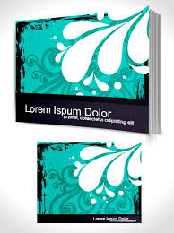 set of book cover design template vector graphics 04 vector