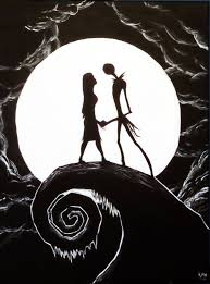 nightmare before christmas painting by corpse boy on deviantart