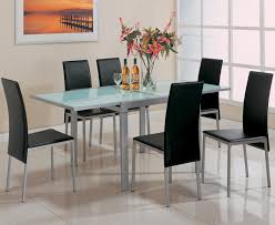 Frosted Glass Dining Room Table Santa Clara Furniture Store San Jose Furniture Store Sunnyvale