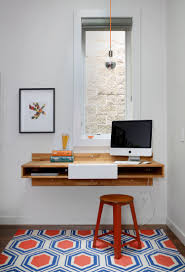 imac wall mount george residence interior office work space pinterest