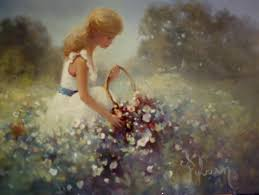picking flowers in the field memories of carole a gallery of art