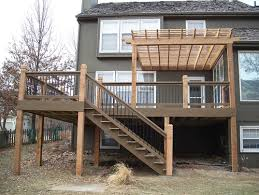 pergola with retractable canopy for back deck need advice