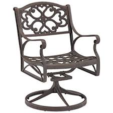 Swivel Outdoor Patio Chairs Amazon Com Home Style 5554 53 Biscayne Swivel Outdoor Arm Chair