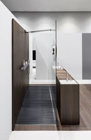 steel is a stainless steel shower tray with integrated slatted