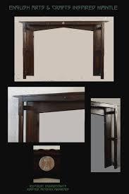 arts u0026 crafts fireplace tiles and mantels fireplace mantels