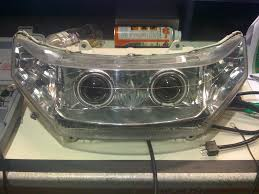 1998 gl1500 headlight upgrade angel eyes hids honda goldwing