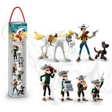 lucky luke comics figurines bd addik