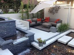 modern water features collection in patio water feature ideas house designing a small