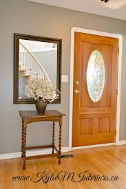 best paint colour to go with a yellow or orange oak floor and fir