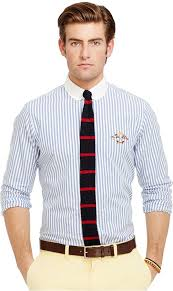 polo ralph lauren striped pinpoint oxford shirt where to buy