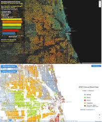 Chicago Demographics Map by Sociological Images
