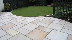 Laying Patio Slabs The Cost To Supply U0026 Lay A Patio