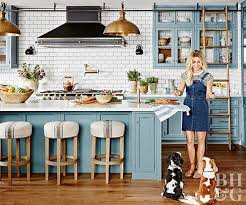 Better Homes And Gardens Kitchen Ideas Julianne Hough Kitchen From Better Homes And Gardens Blue