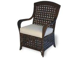 lloyd flanders haven wicker dining chair 43001