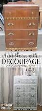 decoupage furniture to add flair prodigal pieces