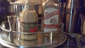 martini ingredients salted sugared spiced beverage