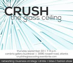 crush the glass ceiling atlanta women networking little black