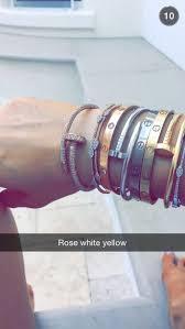 crystal gold bracelet images Jewels jewelry bracelets stacked bracelets gold silver jpg