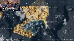 Huge World Map by Assassin U0027s Creed Origins World Map Is Huge Youtube