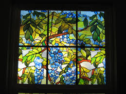 decorations healy and millet stained glass window film stained