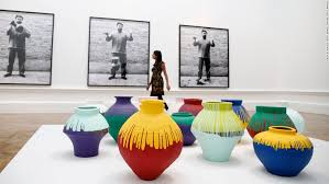 Ai Weiwei Dropping Vase At Last In Pieces Ai Weiwei Is Here Cnn Style
