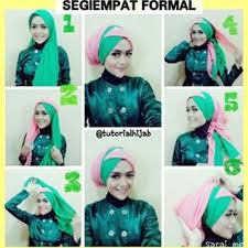 tutorial jilbab dua jilbab aneka tutorial hijab modern tumpuk silang dua warna