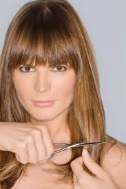 find the best bangs for your face shape round face bangs face