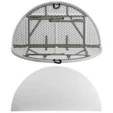 round plastic folding tables 72 round bi fold granite white plastic folding table