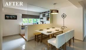 3 Bedroom Hdb Design Tag For Hdb Kitchen Interior Design Ideas Nanilumi