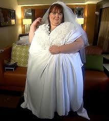 grosse robe de mariã e veut devenir la plus grosse mariée du monde décoration