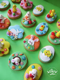 Fondant Easter Cake Decorations by Willow Cake Decorations